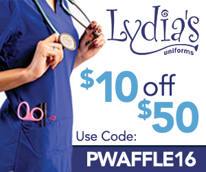 $10 off your purchase @Lydia's!