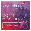 Economy fare sale from Virgin Atlantic - from $226
