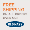 Old Navy Online Coupon: Free Shipping