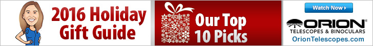 Orion 2016 Holiday Gift Guide: TOP 10!