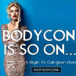 BODYCON IS SO ON¬-A Style To Call You Own