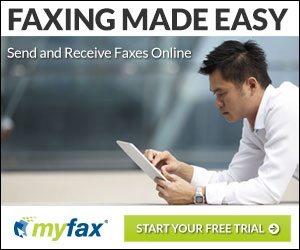 Internet fax. Easy as email.