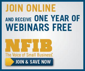 NFIB members get a year of free webinars