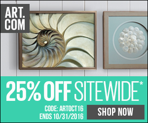Save 28% on all orders of fine art, prints, decor and more at Art.com! Code: DECOR316 (Valid until 3