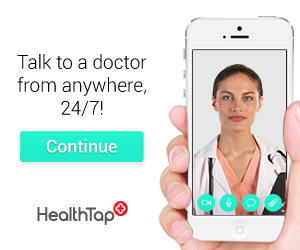 300x250 HealthTap Ad