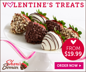 Valentine's Day Strawberries & Gifts from only $19.99