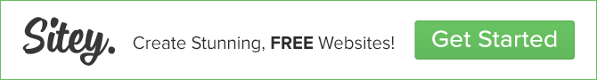 Build Your Own Professional Website 100% Free - simple website tool. Sitey.com