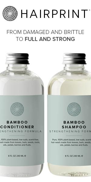 Hairprint Bamboo Treatment Kit for Healthy Hair