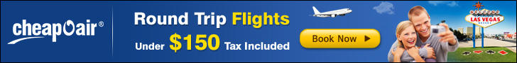 Plan your trip with Round Trip Airfare Deals under $150 and Save Big. Hurry!