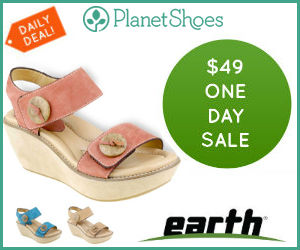 $49 Earth Shoes One-Day Sale!