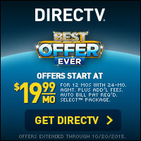 Switch to DIRECTV and save with plans starting at $19.99!