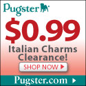 $0.99 Italian Charms Clearance!