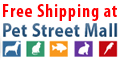 PetStreetMall offers Free Shipping on all orders over $50