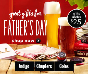 Father's Day gift ideas @ChatpersIndigo