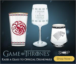 Buy Exclusive Game of Thrones Drinkware at the HBO Shop Now!