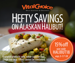 Save 15% On Alaskan Halibut & Get Free Shipping On Orders Over $99 Using Code: HALIBUT18 At VitalCho