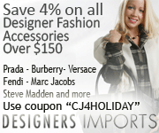Save 4% on all fashion accessories over $150