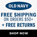 Old Navy Discount Code May 2013