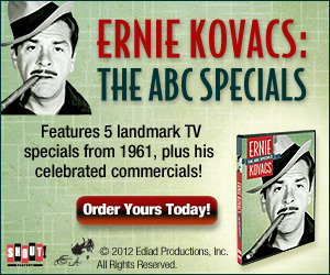 The Ernie Kovacs Collection Buy 6 DVD set here and