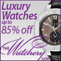 Luxury Watches Up to 85% Off