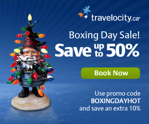 Save up to 50% on Boxing Day Hotel Sale & more!