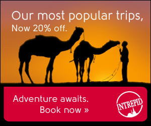 20% Off Intrepid Travel Trips