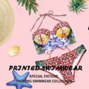 PRINTED SWIMWEAR-Special Pattern Printing Swimwear Collection.