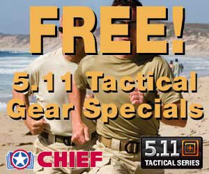 Free 5.11 Tactical Gear at CHIEF
