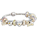 Forever In A Mother's Heart Personalized Bracelet For Mom