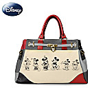 Disney Mickey Mouse And Minnie Mouse Love Story Handbag