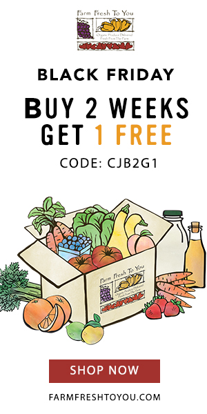 Buy 2 Weeks Get 1 Free From Farm Fresh To You This Black Friday