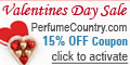 Perfume Country - 15% Off Instant Coupon - Active