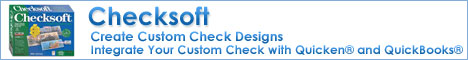 Checksoft Home & Business 2007 - Save 25%