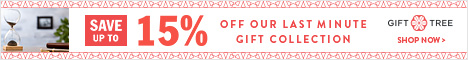Save Up To $15 Off Our Last Minute Gift Collection