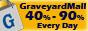 Save 40 - 90% everyday at GraveyardMall.com