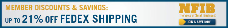 NFIB members get up to 20% off on shipping service