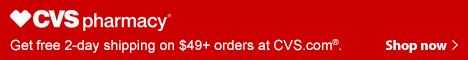 CVS Pharmacy Free Shipping