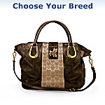 Puppy Love Satchel-Style Handbag: Choose Your Breed
