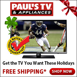 PaulsTV – Get the TV you want these holidays