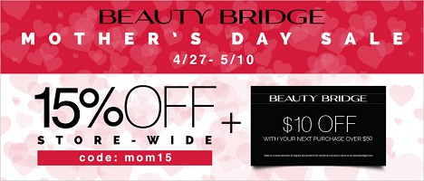 Mother's Day Sale At Beauty Bridge