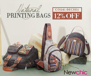 12% OFF Printing Canvas Bags