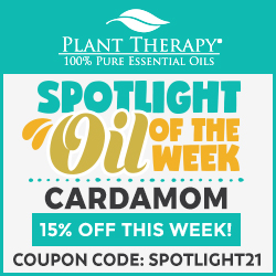 EXCLUSIVE! Get 15% Off Cardamom Oils at Plant Therapy! Use Code SPOTLIGHT21 and Save!