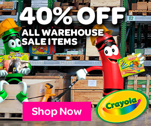 40% off Warehouse Sale items