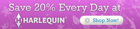 Save 20% everyday at eHarlequin.com