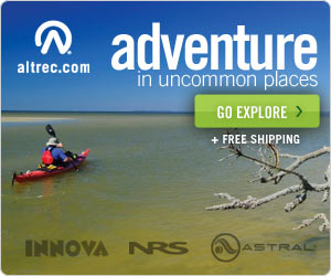 Adventure in Uncommon Places - Kayak Gear at Altre
