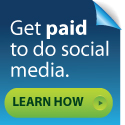 Get paid to do social media. Learn how