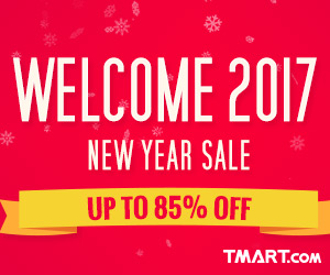 2017 New Year Sale - UP to 85% OFF