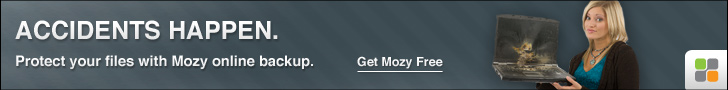 MozyHome Remote Automatic Daily Computer Backup $5.99 Per Month