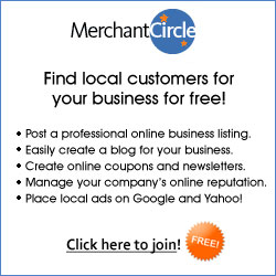 Find more customers at MerchantCircle.com