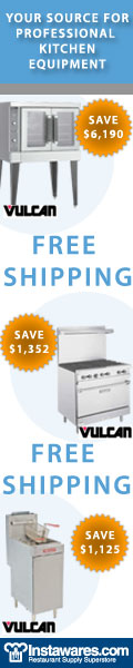 Save on Vulcan Industrial Appliance at Instawares!